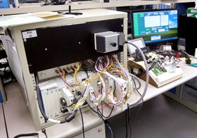 In-circuit and functional testing by SMD